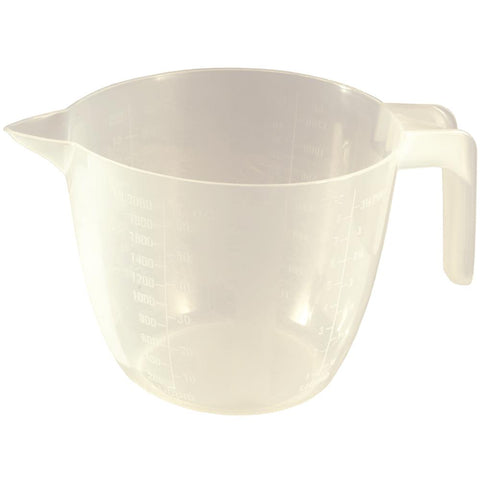 Chef Aid 2 Litre 3.5 pint Measuring Jug