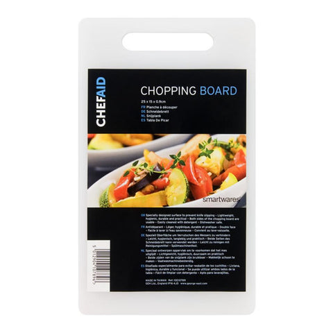 Chef Aid Chopping Board 25 x 15 x 0.9cm