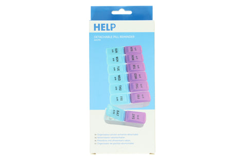 Manicare Help - Detachable Pill Reminder AM PM