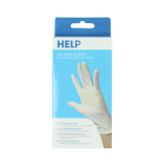 Help 10 Pack Latex Gloves