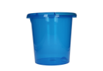 Sorbo 10l Bucket - Transparent Blue