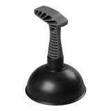 Elliotts Sink Plunger - Black suction end
