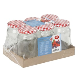 Tala Pack 6 Round Preserving Jars