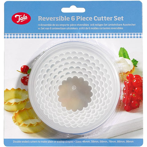 Tala Reversible 6Piece Cutter Set