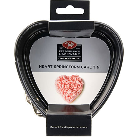 Tala Performance Heart shape springform cake tin