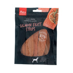 Pets Unlimited Salmon Filet Strips Large 150g