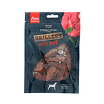 Pets Unlimited Grillers Beef 100g