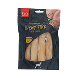 Pets Unlimited Chewy Chicken Sticks Medium 4 Pieces