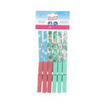 Sorbo 12 Pack Botanic Print Clothes Pegs