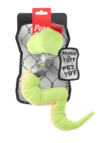 Ruff and Tuff 202143 Plush and TPR Rubber Toy - Snake