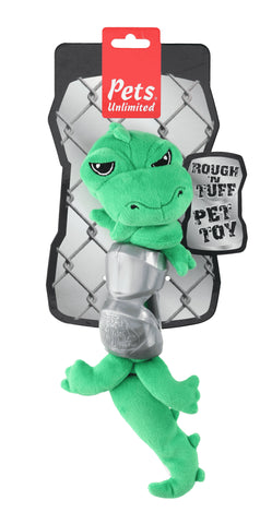 Ruff and Tuff 202145 Plush and TPR Rubber Toy - Croc