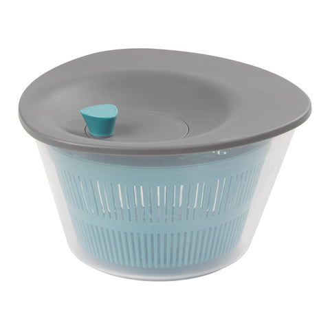 Chef Aid Contain Salad Spinner With Non Slip Base