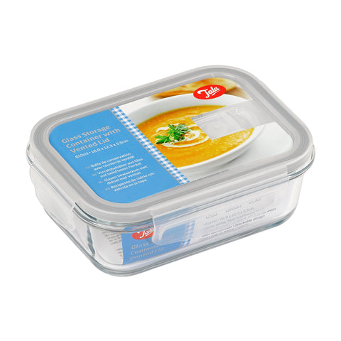 Tala Borosilicate Glass storage with vented lid 610ml