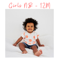 Baby Girl Clothes NB 3M 6M 9M 12M