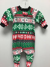 Load image into Gallery viewer, LOL Christmas Fleece Footed Sleeper Size 0-3 Months
