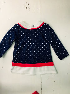 Dress With Bloomers Size 6m