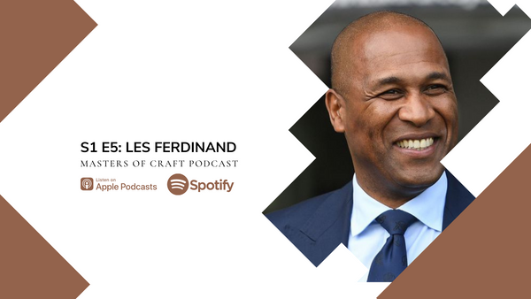 Interview with Les Ferdinand, Legendary Footballer and Director of Football at Queens Park Rangers