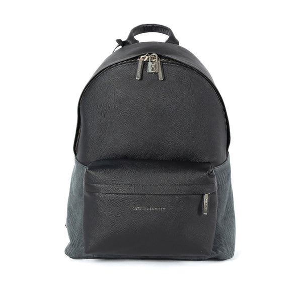 Astin Backpack - Black Saffiano Leather