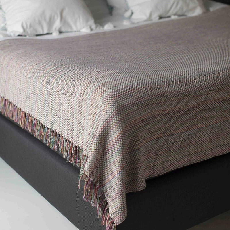 Albertina plaid 100% cashmere