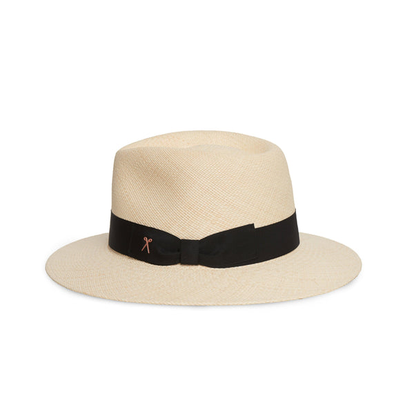 Panama Hat - Natural Toquilla / Black Band
