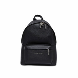 Skye Backpack Small - Black Saffiano Leather