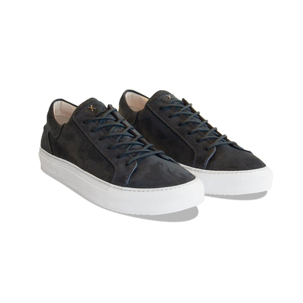 Mario Low Refined Sneaker - Midnight Blue Nubuck / White Outsole