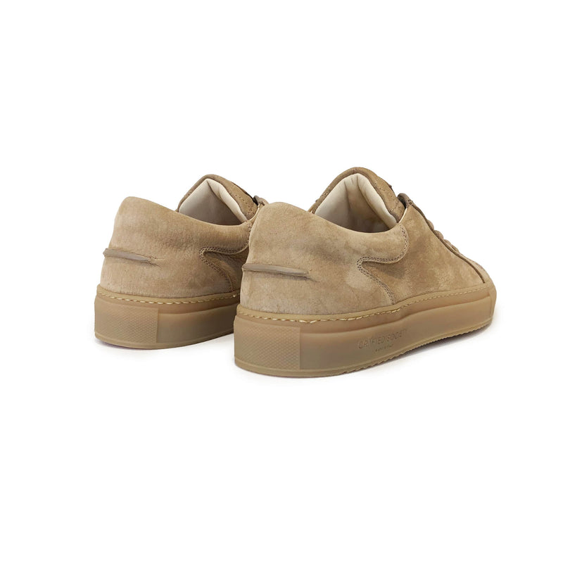 Mario Low Refined Sneaker - Sand Nubuck / Gum Rubber Outsole