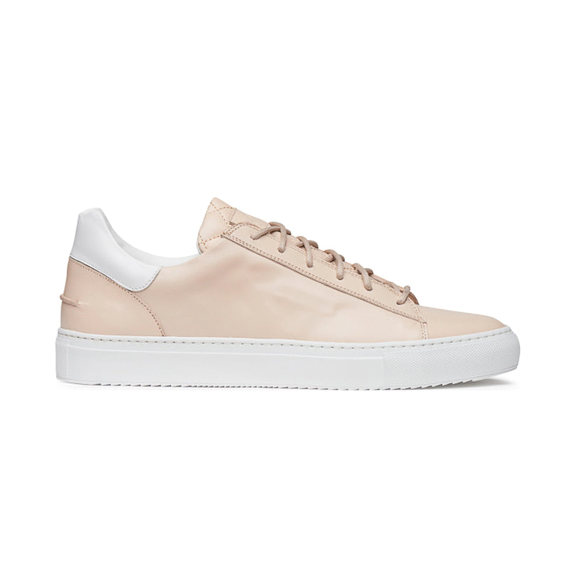 Mario Low Sporty Sneaker - Tan Full Grain Leather / White Outsole