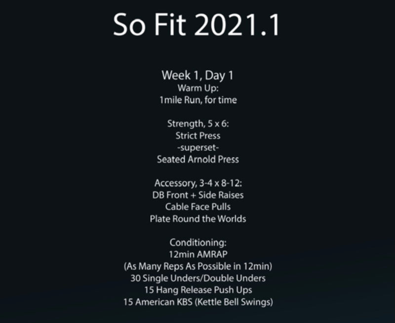 So Fit 2021.1