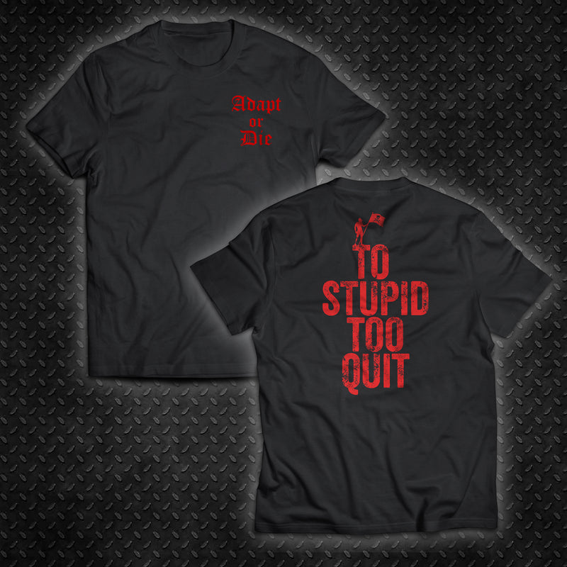 To Stupid Too Quit