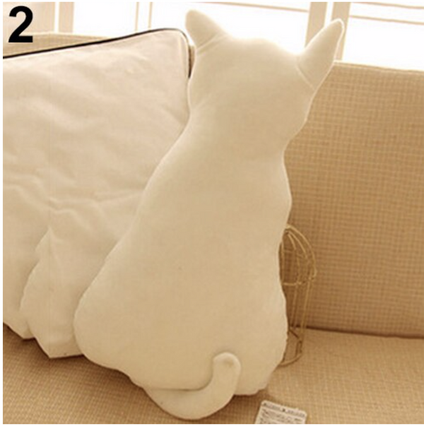 "OREILLER DE SOFA ""CUTE CAT"""