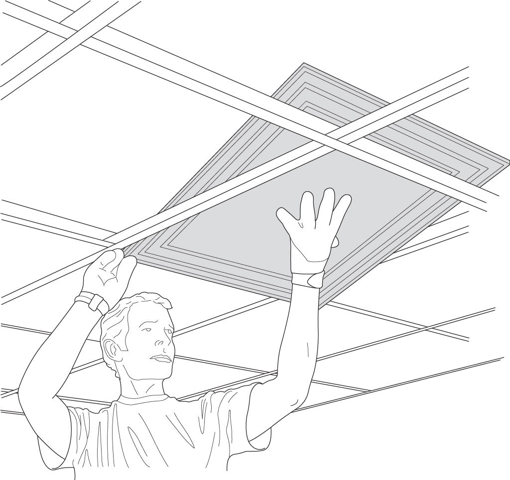 alternative to drop ceiling systems