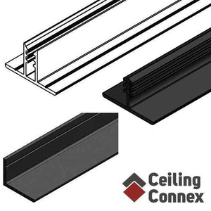 black ceiling grid kits, an alternative to drop ceiling kits