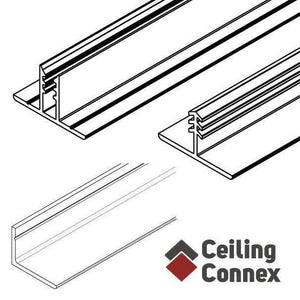 white ceiling grid kit for basements