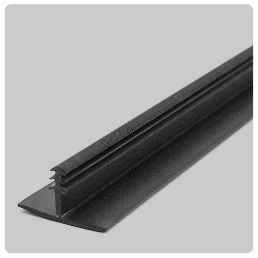black t bar ceiling grid track