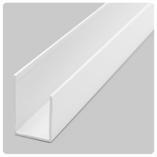 white direct mount ceiling grid track