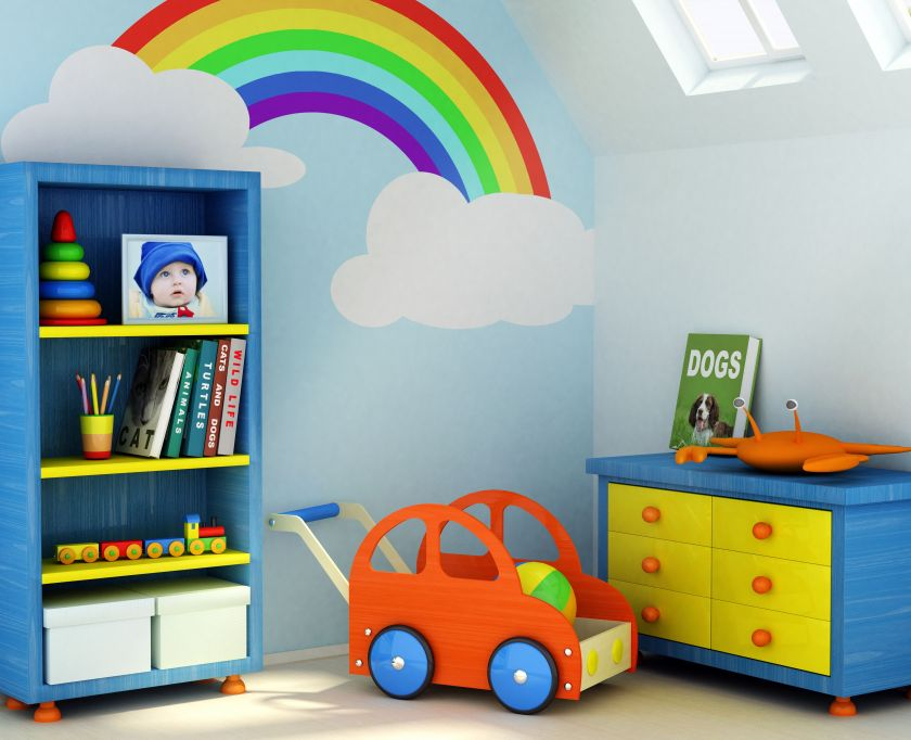 kids basement playroom