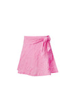 VICHY FUCHSIA V MINI SKIRT