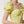 Load image into Gallery viewer, Stefania Vaidani yellow vichy midi dress detail