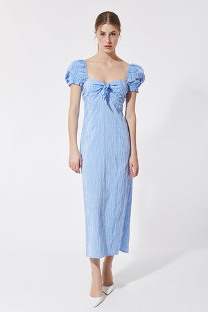 Stefania Vaidani vichy dress
