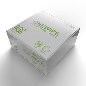 OneWipe Washable yet Disposable Microfibre Wipes | from SurfaceScience - 50 box
