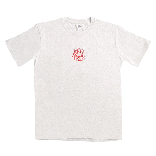 FARIO STAPLE TEE WHITE MARLE