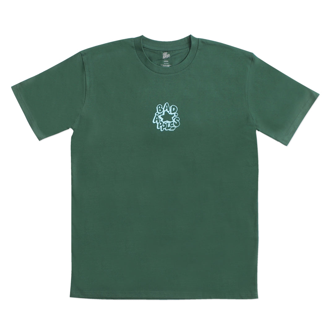 FARIO STAPLE TEE EMERALD