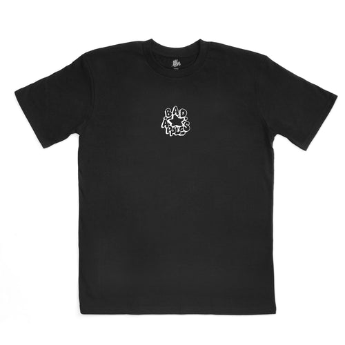 FARIO STAPLE TEE BLACK