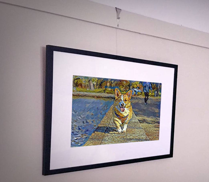 AI Generated Pet Portraits - A faster, cheaper alternative to traditional pet portraits