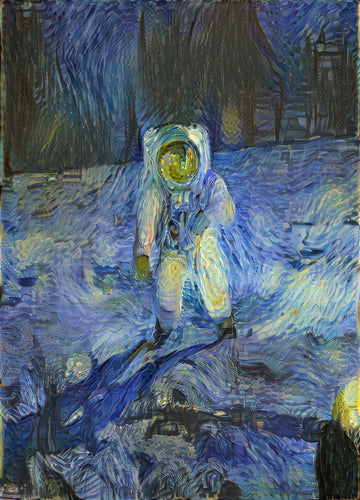 Starry Night Astronaut