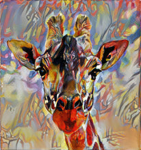 Load image into Gallery viewer, Kandindky Giraffe