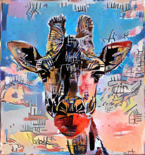 Load image into Gallery viewer, Basquiat Giraffe 2