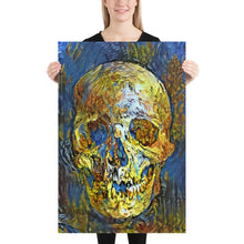 Load image into Gallery viewer, Van Gogh Skull