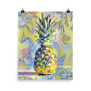 Basquiat Pineapple